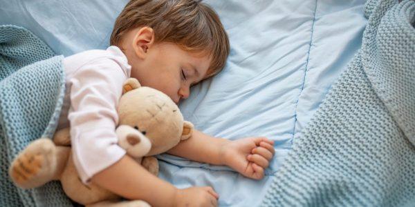 Cute,Little,Kid,Sleeping.,Little,Boy,Sleeping,In,Bed,Cute